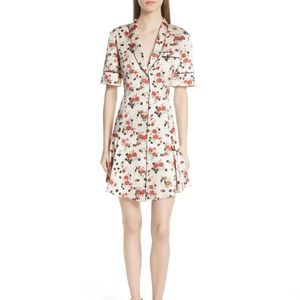 BNWT A.L.C. Ruthie Floral Button-Front Dress